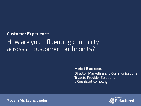 Customer-focused communications
