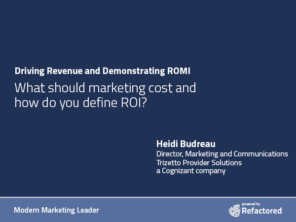 Measuring lead-to-sale for ROI